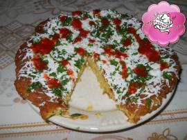 Pizza din cartofi