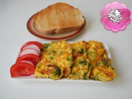 Retetele mele - Omleta cu brocoli
