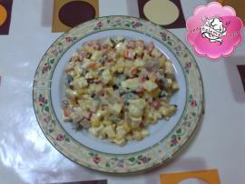 Retetele mele - Salata cu sunculita ardeleneasca